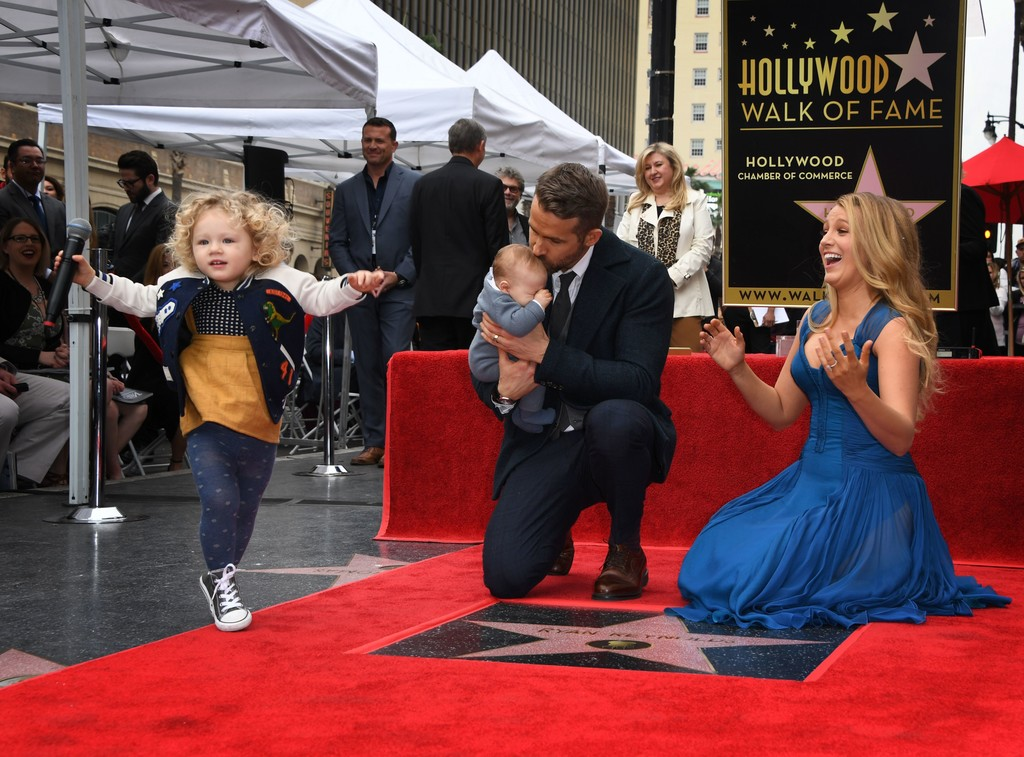 The Name of Ryan Reynolds and Blake Lively's Second Daughter Has Finally Been Revealed
