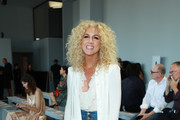 Kimberly Schlapman attends Ryan Roche fashion show during New York Fashion Week: The Shows at Gallery II at Spring Studios on September 11, 2019 in New York City.