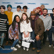 Ryan Sampson BTS Visit 'The Morning Mash Up' On SiriusXM Hits 1 Channel At The SiriusXM Studios In New York