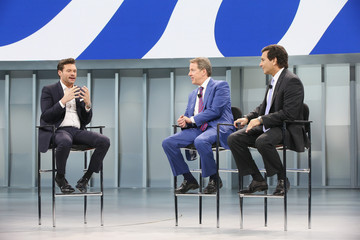 Ryan Seacrest Car Makers Reveal New Models At N. American International Auto Show In Detroit
