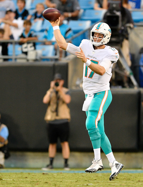 Miami Dolphins v Carolina Panthers [sports,team sport,player,tournament,sports equipment,ball game,sport venue,championship,american football,competition event,ryan tannehill,pass,north carolina,charlotte,bank of america stadium,miami dolphins,carolina panthers,game]