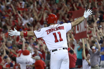 Ryan Zimmerman Divisional Round - Chicago Cubs v Washington Nationals - Game Two