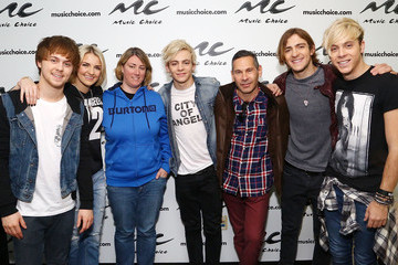 Rydell Lynch R5 Visits Music Choice in NYC