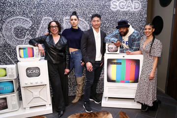 S. Epatha Merkerson Brian Tee SCAD aTVfest 2020 - The Windy City Trifecta: Dick Wolf's 'Chicago'