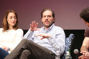 """Actress Bree Turner and Actor Silas Weir Mitchell speak at the """"Grimm"""" event during aTVfest 2016 presented by SCAD on February 7, 2016 in Atlanta, Georgia."""