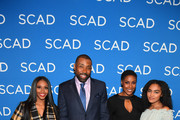 Actors Nafessa Williams, Cress Williams, Christine Adams, and China Anne McClain attend a screening and Q&A for 'Black Lightning' on Day 3 of the SCAD aTVfest 2018 on February 3, 2018 in Atlanta, Georgia.