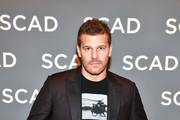 """Actor David Boreanaz attends the """"SEAL Team"""" press junket during SCAD aTVfest 2019 at Four Seasons Hotel on February 09, 2019 in Atlanta, Georgia."""