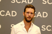 "Ryan Kwanten attends the ""The Oath""press junket during SCAD aTVfest 2019 at SCADshow on February 7, 2019 in Atlanta, Georgia."
