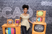 Yara Shahidi attends SCAD aTVfest 2020 - In Conversation: The Spirit And Style Of 'Grown-ish' With Yara Shahidi And Michelle R. Cole on February 28, 2020 in Atlanta, Georgia.