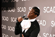 Miss J Alexander speaks at the Learn to Slay with Miss J Alexander Panel at SCAD aTVfest 2020 - Day 1 on February 27, 2020 in Atlanta, Georgia.