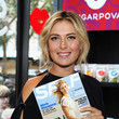 Maria Sharapova Celebrates Her Magazine Cover