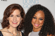 Honoree Jessica Greer Morris (L) and actress Monique Coleman arrive at the 6th annual SELF Magazine's Women Doing Good Awards at Apella on September 11, 2013 in New York City.