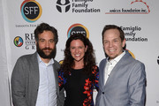 Josh Radnor, Jennifer Lafleur and Jeff D. Johnson attend the Cinema Tropicale Event on April 8, 2016 in Sarasota, Florida.