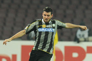 Andrea Lazzari of Udinese in action during the Serie A match between SSC Napoli and Udinese Calcio at Stadio San Paolo on December 7, 2013 in Naples, Italy.