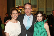 """(L-R) Actors Philippa Coulthard, Matthew Macfadyen and Hayley Atwell attend the STARZ """"Counterpart"""" & """"Howards End"""" FYC Event at LACMA on May 23, 2018 in Los Angeles, California."""