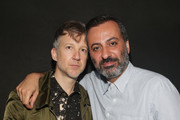 Editorial director and publisher of Dazed Group, Jefferson Hack (L) and Creative director of Milk Studios, Mazdack Rassi attend the SXSW 808 Extravaganza presented by Dazed & Confused, Arthur Baker and Soho House @ The Soho House Austin With GREY GOOSE Vodka & BMWi Pop-Up  on March 17, 2015 in Austin, Texas.