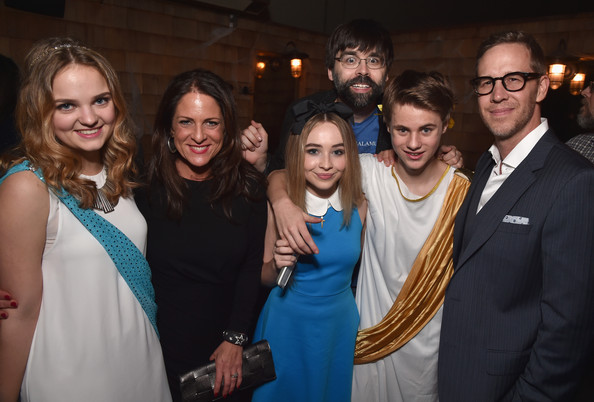 """Premiere Of RADiUS-TWC's """"Horns"""" - After Party [event,fashion,formal wear,friendship,smile,dress,party,photography,suit,ceremony,laine mcneal,joey mcfarland,mitchell kummen,cathy schulman,sabrina carpenter,horns,radius-twc,party,premiere,party]"""