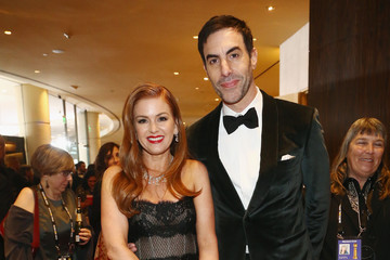 Sacha Baron Cohen The Golden Globe Awards Sponsored By Lindt Chocolate