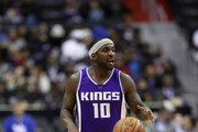 Ty Lawson #10 of the Sacramento Kings dribbles the ball against the Washington Wizards at Verizon Center on November 28, 2016 in Washington, DC. NOTE TO USER: User expressly acknowledges and agrees that, by downloading and or using this photograph, User is consenting to the terms and conditions of the Getty Images License Agreement.