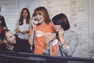 Sadie Frost The 13th Annual BGC Charity Day At BGC Partners In London's Canary Wharf - Behind The Scenes Colour