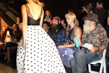 Sadie Robertson MBFW: Front Row at Evening by Sherri Hill