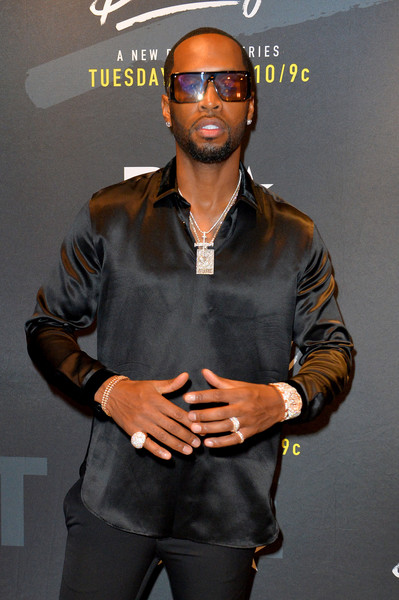 BET Hip Hop Awards 2018 - Pre-Reception [eyewear,muscle,cool,sunglasses,performance,style,glasses,bet hip hop awards,pre-reception,fillmore miami beach,florida,safaree samuel]