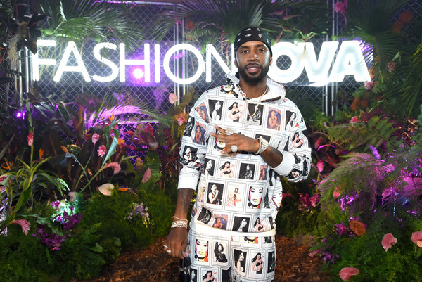 Fashion Nova Presents: Party With Cardi - Inside [pink,cool,fun,tree,event,plant,party,fictional character,flower,fashion nova presents: party with cardi - inside,california,los angeles,hollywood palladium,safaree samuels]