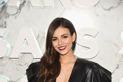 Victoria Justice attends as Saks celebrates new main floor with Lupita Nyong'o, Carine Roitfeld and Musical performance by Halsey on February 7, 2019 at Saks Fifth Avenue in New York City.