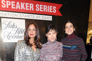 Roopal Patel, Sandra Choi and Leandra Medine attend the Saks Fearless Women Speaker Series with Leandra Medine and Sandra Choi on October 16, 2018 in New York City.