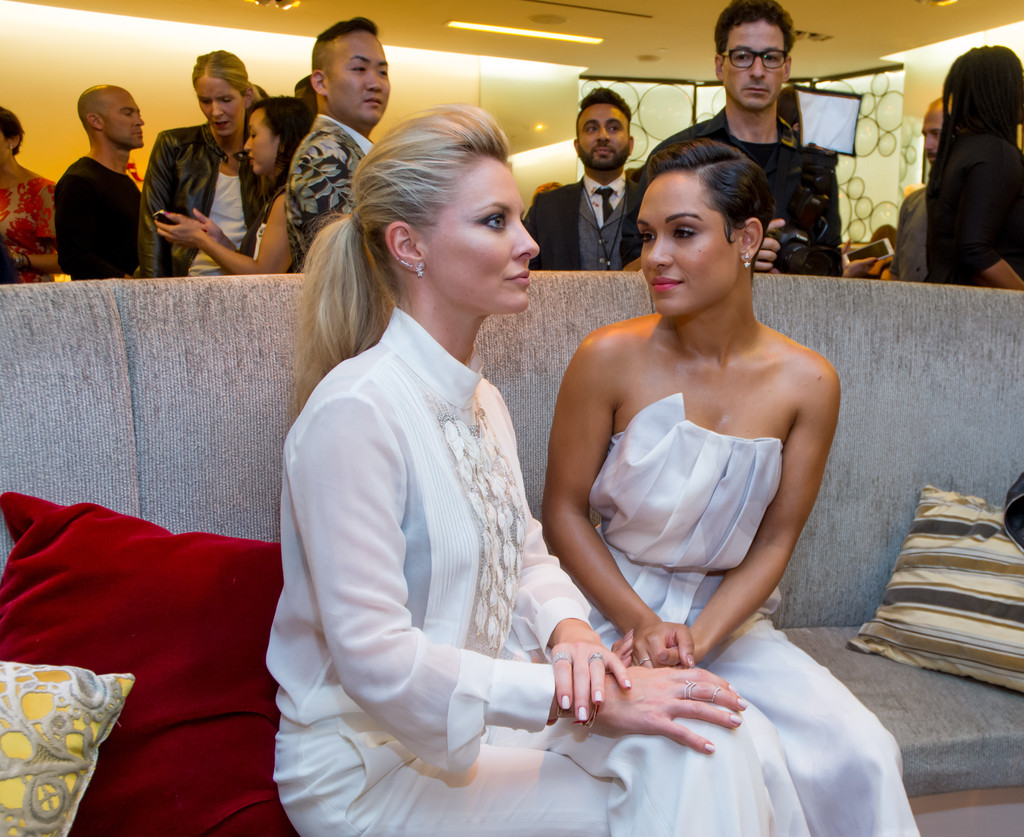 """anika empire dating It's an empire wedding to remember the show's stars, grace gealey and trai byers, who play anika """"boo boo kitty"""" calhoun and andre lyon, respectively, tied the knot in a romantic beachside ."""