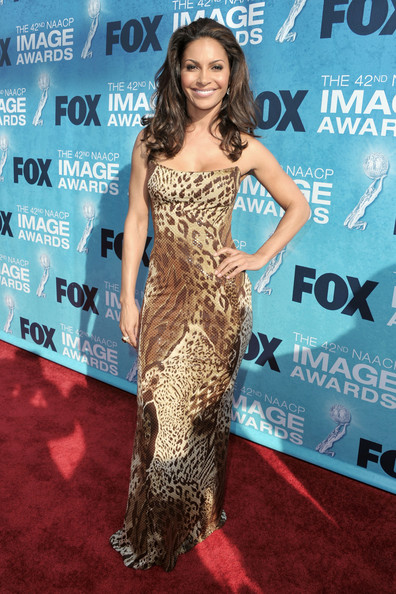 Salli Richardson-Whitfield - 42nd NAACP Image Awards - Red Carpet