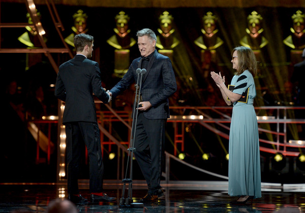 The Olivier Awards 2019 With Mastercard - Show [entertainment,performance,event,performing arts,stage,musical theatre,music,heater,performance art,singing,olivier awards,award,c,stage,mastercard - show,sally field,r,best actor,kyle soller,bill pullman]