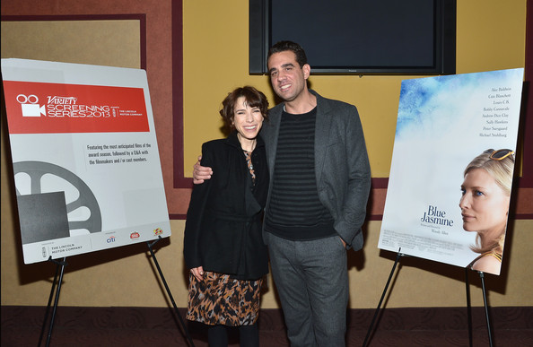 Photo of Bobby Cannavale & his friend  Sally Hawkins