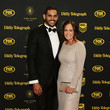 Sally Inglis Arrivals at the Dally M Awards