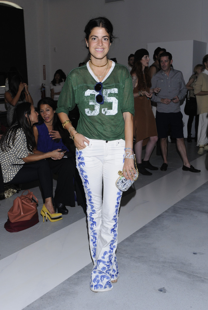 Writer Leandra Medine attends the Sally Lapointe spring 2013 fashion show during Mercedes-Benz Fashion Week at Center 548 on September 7, 2012 in New York City.