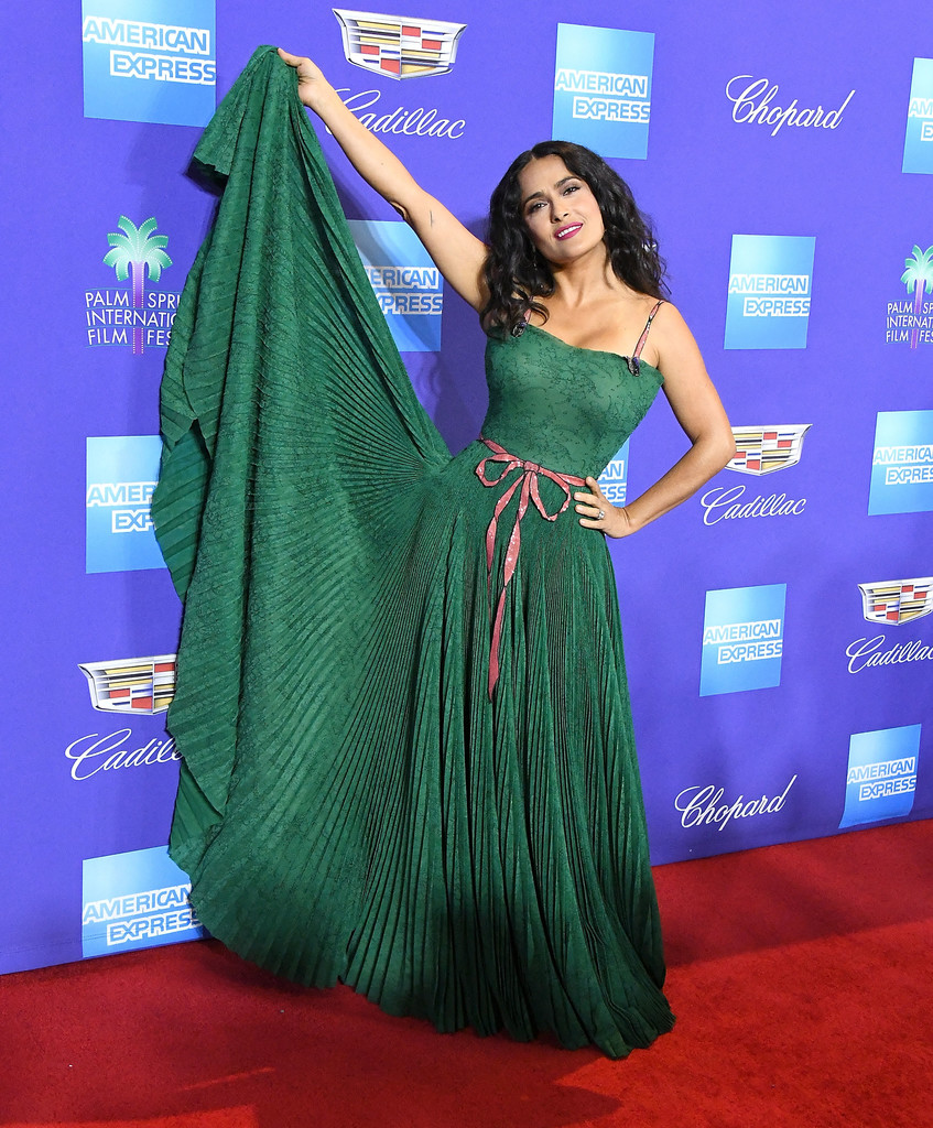 Salma Hayek 29th Annual Palm Springs International Film