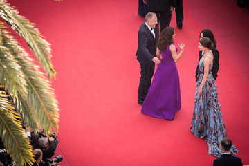 Salma Hayek Alessandro Michele 'Rocco and His Brothers' Premiere - The 68th Annual Cannes Film Festival