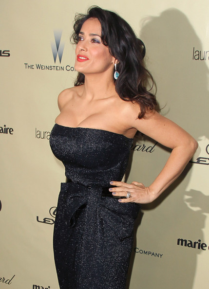 Salma Hayek - The Weinstein Company's 2013 Golden Globe Awards After Party - Arrivals