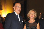 Mario Boselli and Alberta Ferretti attend the  Salvador Dali Opening Exhibition during Milan Fashion Week Womenswear S/S 2011 on September 22, 2010 in Milan, Italy.