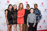 (L-R) Navia Robinson, Sky Katz, Anneliese van der Pol, Raven-Symoné, Jason Maybaum, and Issac Ryan Brownattend the Beverly Wilshire Four Seasons Hotel on June 19, 2019 in Beverly Hills, California.  (Photo by Gregg DeGuire/Getty Images for the Salvation Army)