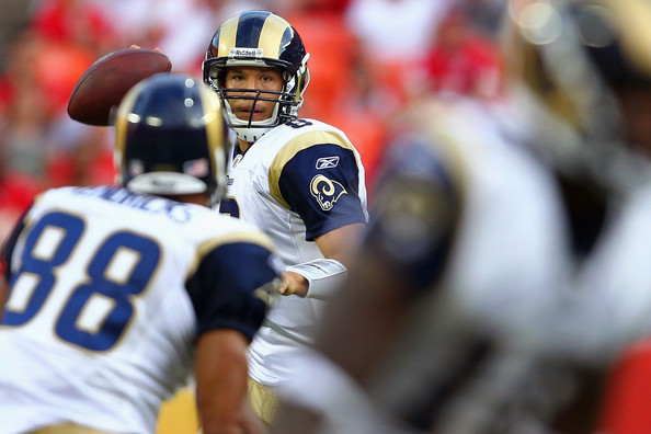 Sam Bradford targets Lance Kendricks vs the Chiefs