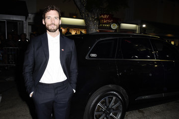Sam Claflin Audi Arrives At The World Premiere Of 'Charlie's Angels'