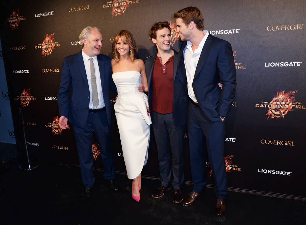 Sam Claflin - 'The Hunger Games' Party in Cannes