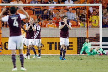 Sam Cronin Colorado Rapids v Houston Dynamo