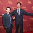 Sam Levine Marvel Wax Figures Unveiled in Hollywood