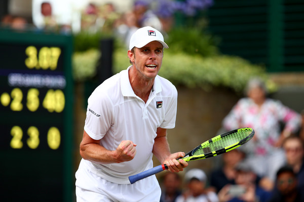 Sam Querrey Up Against Murray — And All Of Britain