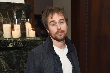 Sam Rockwell The Cinema Society Hosts s Screening Of Marvel's 'Avengers: Age Of Ultron'- After Party
