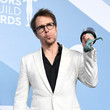 Sam Rockwell 26th Annual Screen Actors Guild Awards - Press Room