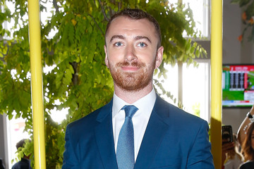 Sam Smith Celebrities Attend Melbourne Cup Day