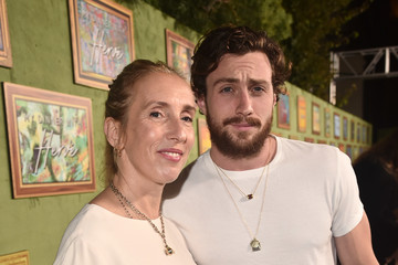 Sam Taylor-Wood Aaron Taylor-Johnson HBO Films' 'My Dinner With Herve' Premiere - Red Carpet